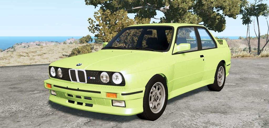 BeamNG - BMW M3 Coupe (E30) 1990 V1.18