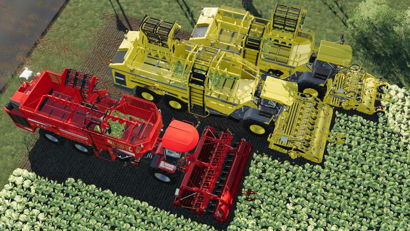 FS19 - Carrots, Onions and Cabbage Crops V1.7