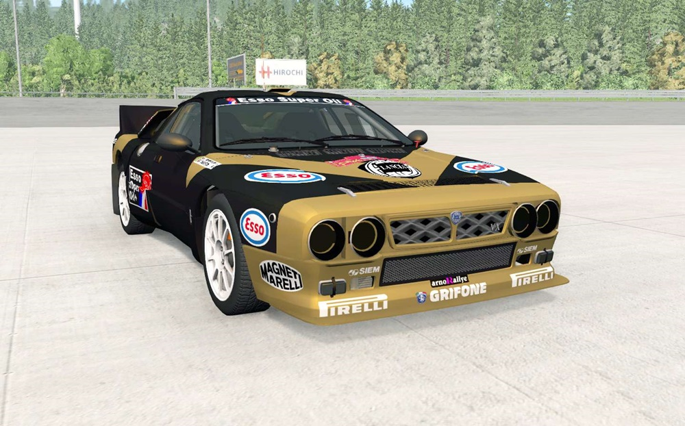 BeamNG - Lancia Rally Group B (SE037)