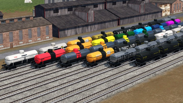 Transport Fever 2 - 8000 Gallon Tank Cars