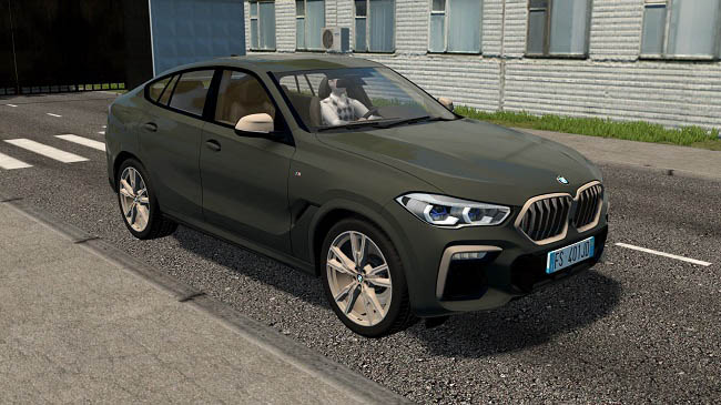 City Car Driving 1.5.9 - BMW X6 M50i 2020