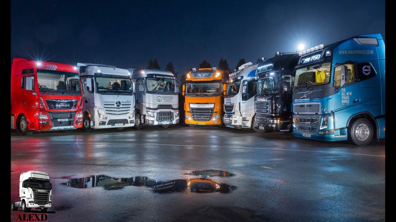 ETS2 - 1000 HP Engine All Trucks V1.2 (1.35.X)