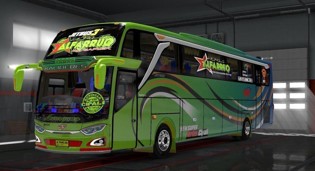 ETS2 - Mod Bus Adiputro Jetbus Shd Pack V1.0 (1.35.X)