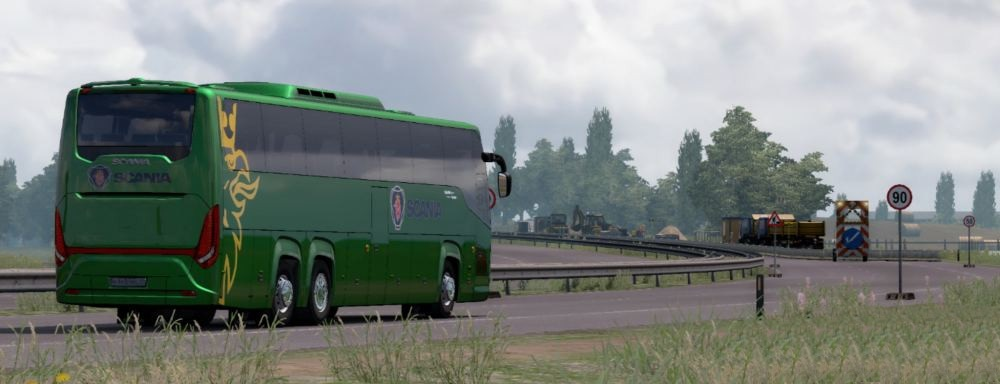ETS2 - Scania Touring Fixed (1.36.x)