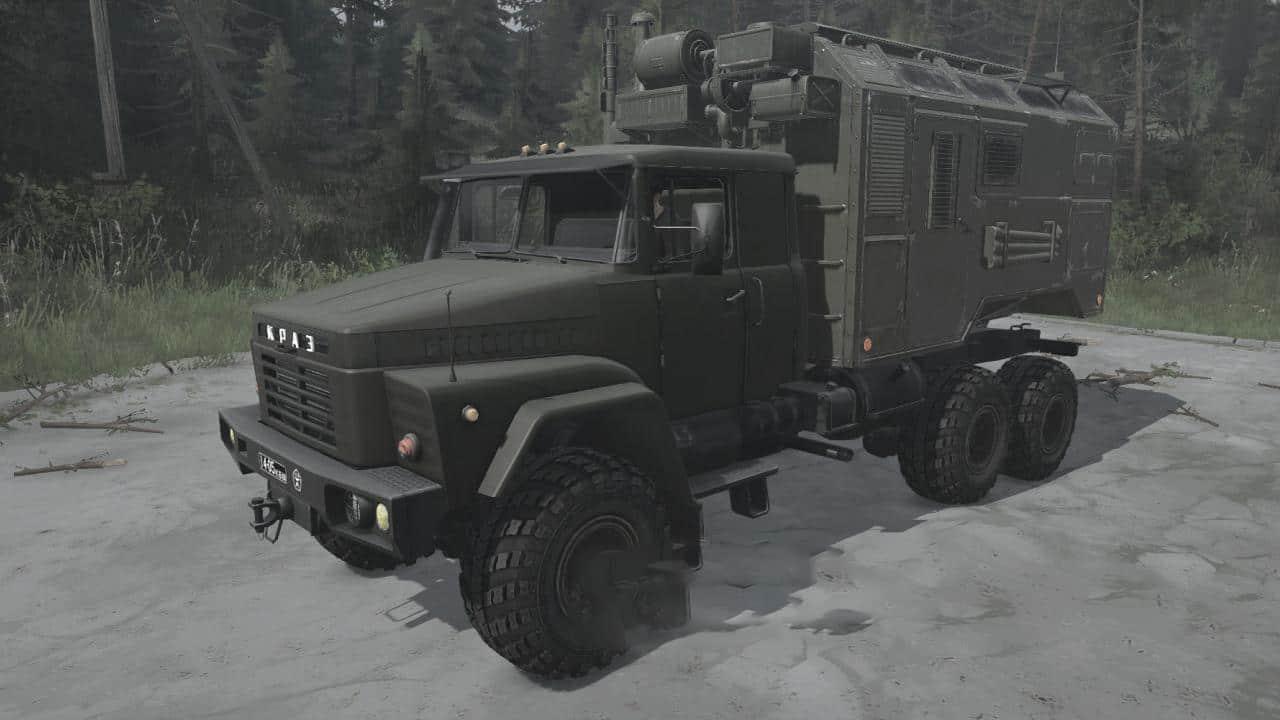 Spintires:Mudrunner - KrAZ-260 Truck V17.04.21
