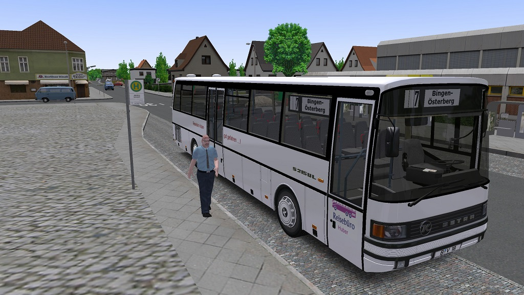 Omsi 2 – Target Conveyor Belts for The Setra 215 UL for The Motorway Map