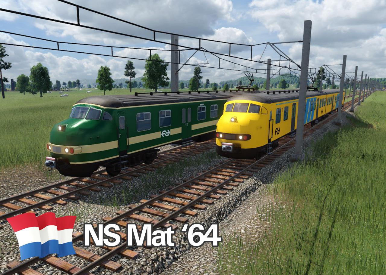 Transport Fever 2 - NS Mat 64