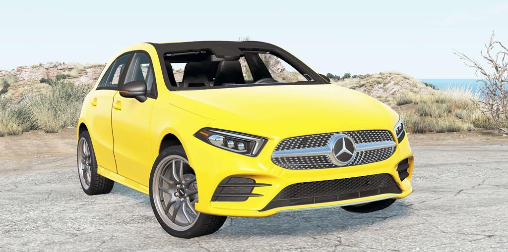 BeamNG - Mercedes-Benz A 200 AMG Line (W177) 2018 Car Mod