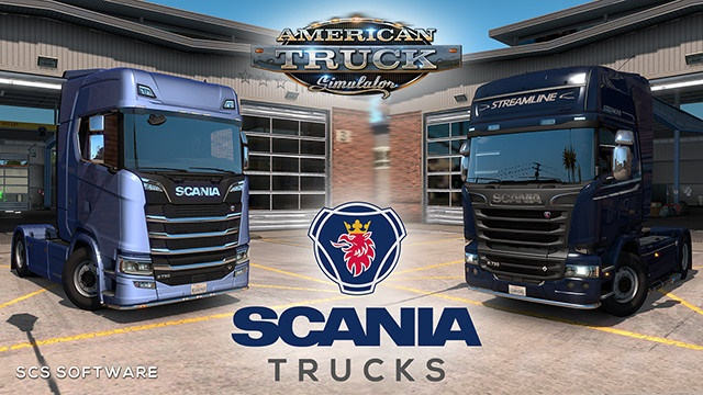 ATS - Scania Trucks Mod V3.0 (1.36.x)