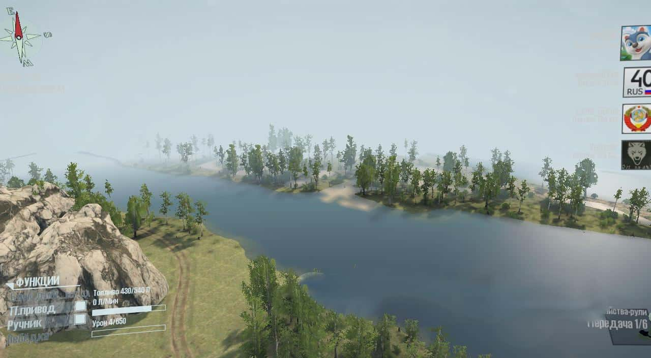 Spintires:Mudrunner - We Carry Forest 10: Autumn Map V1.0