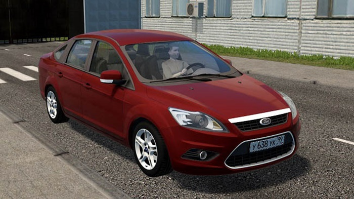 City Car Driving 1.5.9 - Ford Focus 2