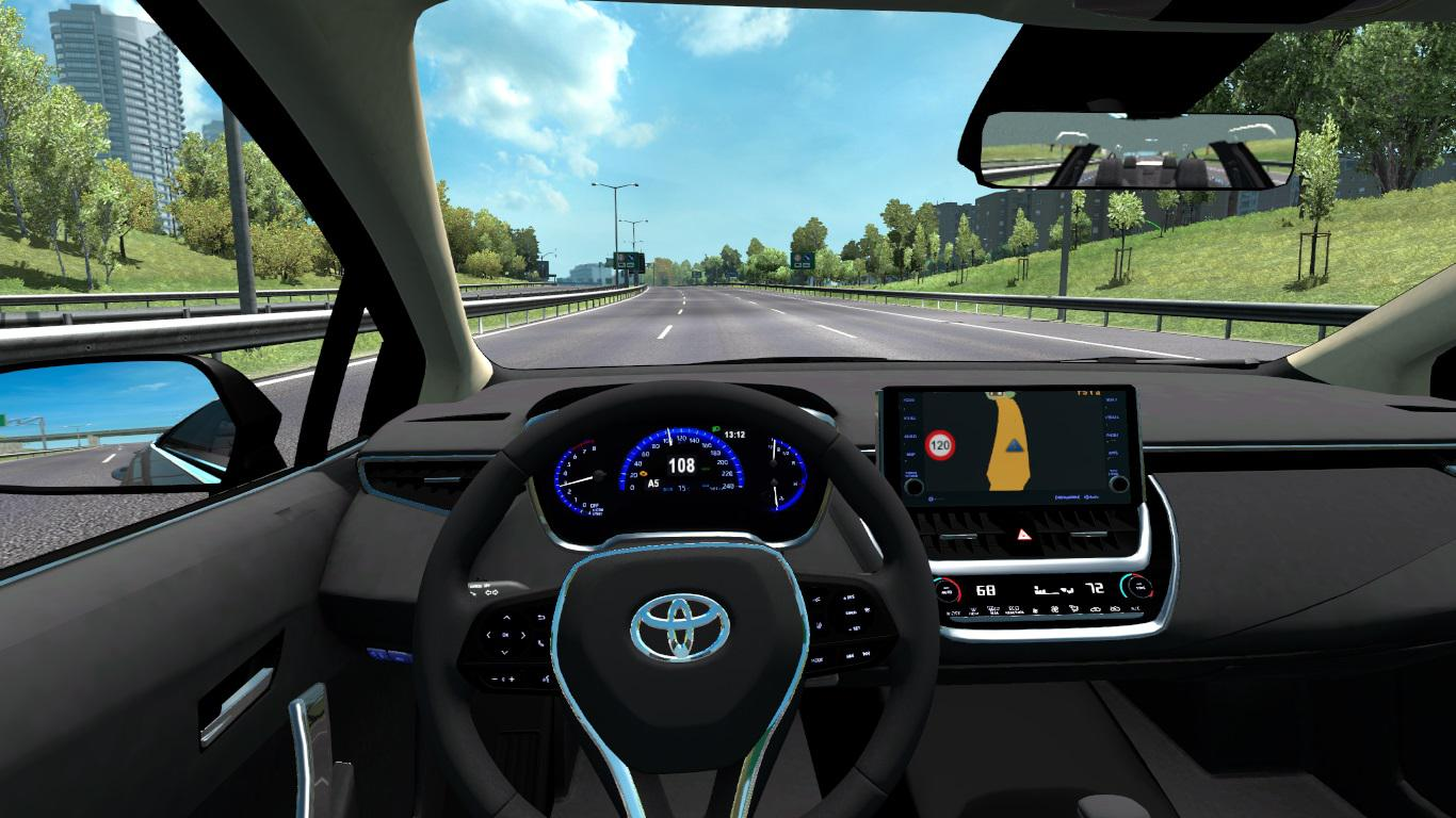 ETS2 - Toyota Corolla 2020 (1.36.x)