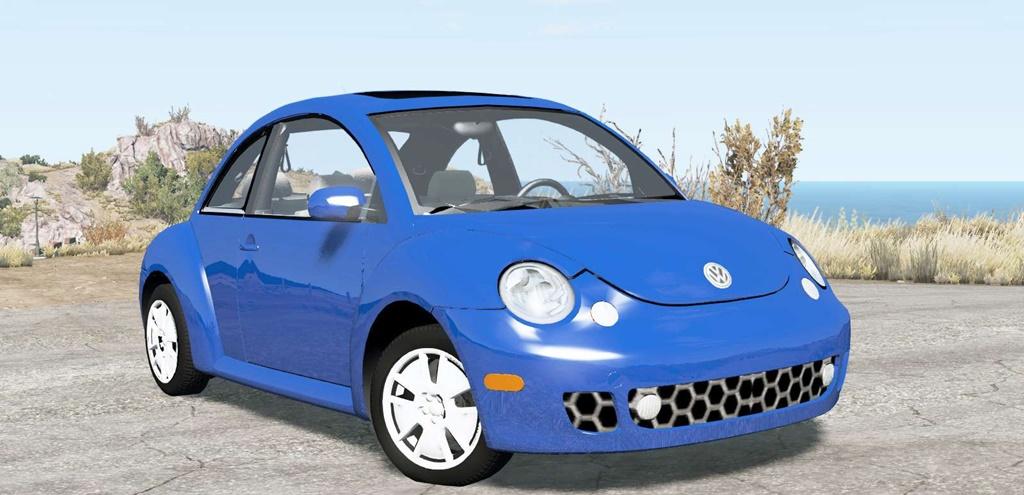 BeamNG - Volkswagen New Beetle Turbo S 2002 Car Mod