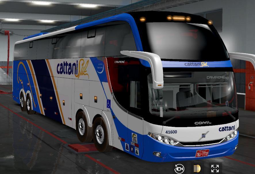 ETS2 - Comil Volvo Hd 8x2 Bus V1.2 (1.36.x)