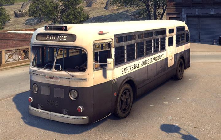 Mafia 2 – Prison Bus