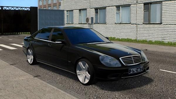 City Car Driving 1.5.9 - Mercedes S65 W220 AMG