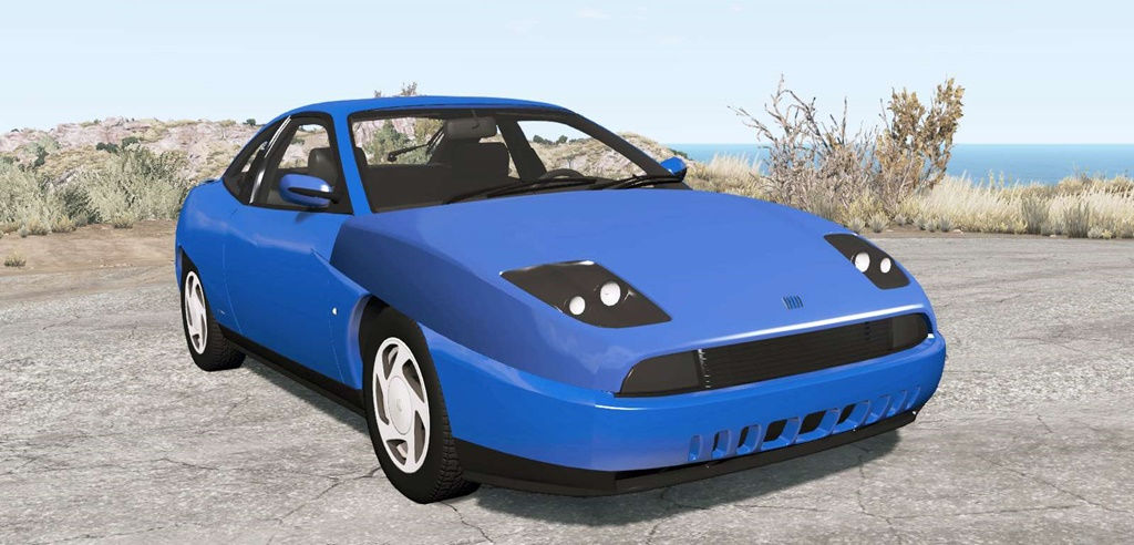 BeamNG - Fiat Coupe (175) 1995 Car Mod