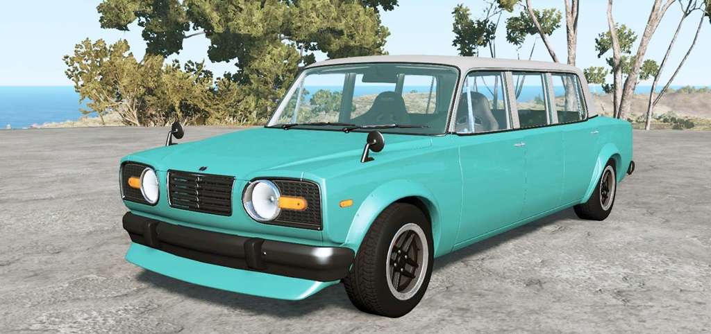 BeamNG - Ibishu Miramar Limousine V2.69