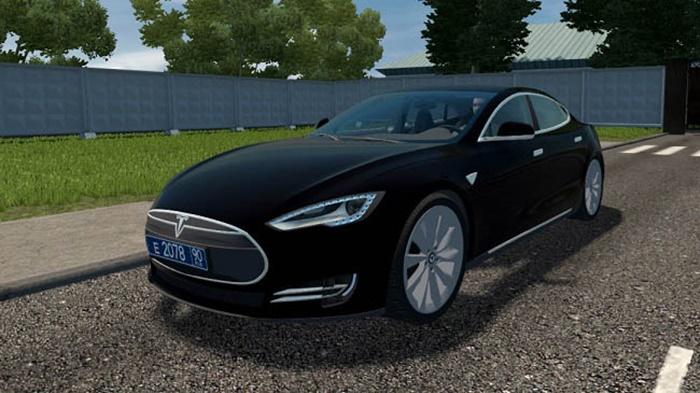 City Car Driving 1.5.9 – Tesla Model S