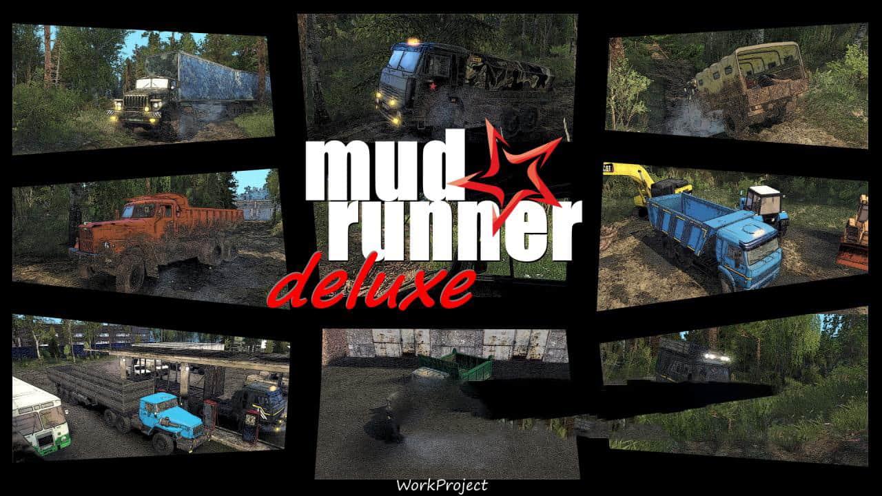 SpinTires:Mudrunner - MudRunner Deluxe Truck v1.0