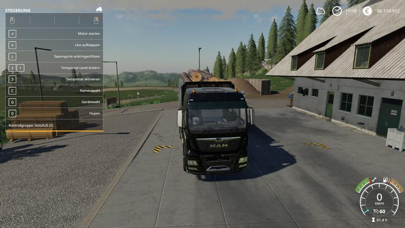 FS19 - Man Forst LKW MP V1.1