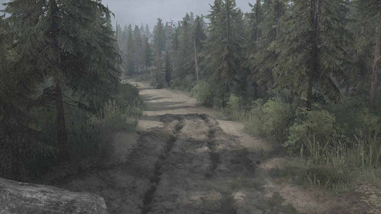 Spintires:Mudrunner - Shuksan Logging Map V11.02.20