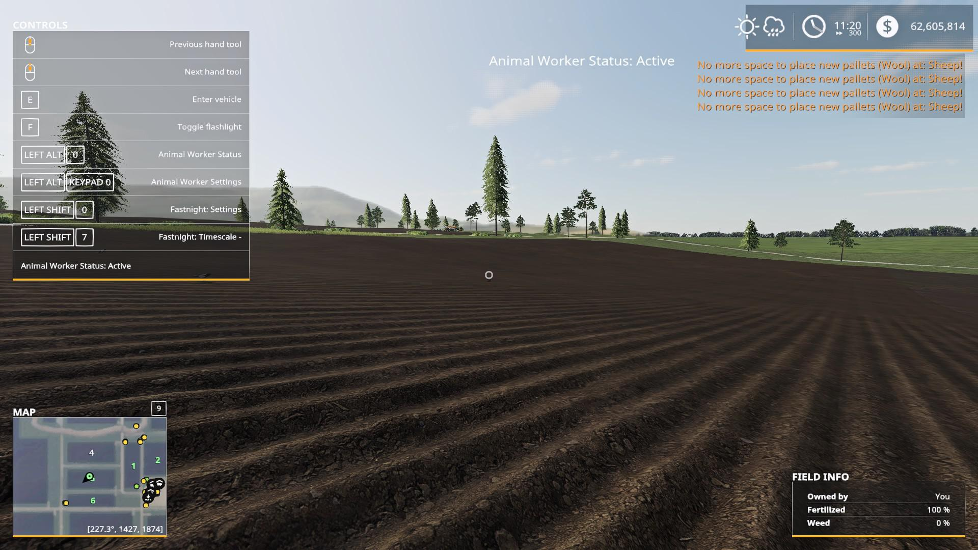 FS19 - Animal Worker V2.3