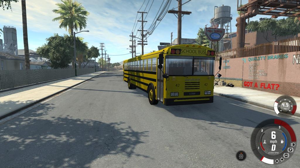 BeamNG - Dansworth D2500 (Type-D) School Bus Mod V7.0