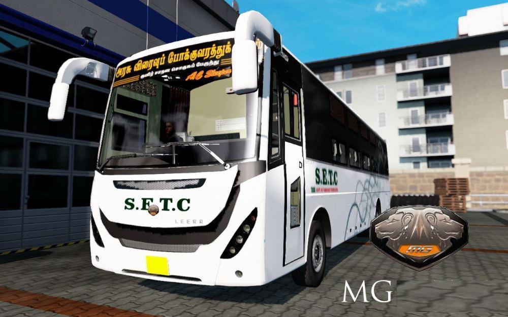 ETS2 - MG Leera Bus Mod (1.38.x)