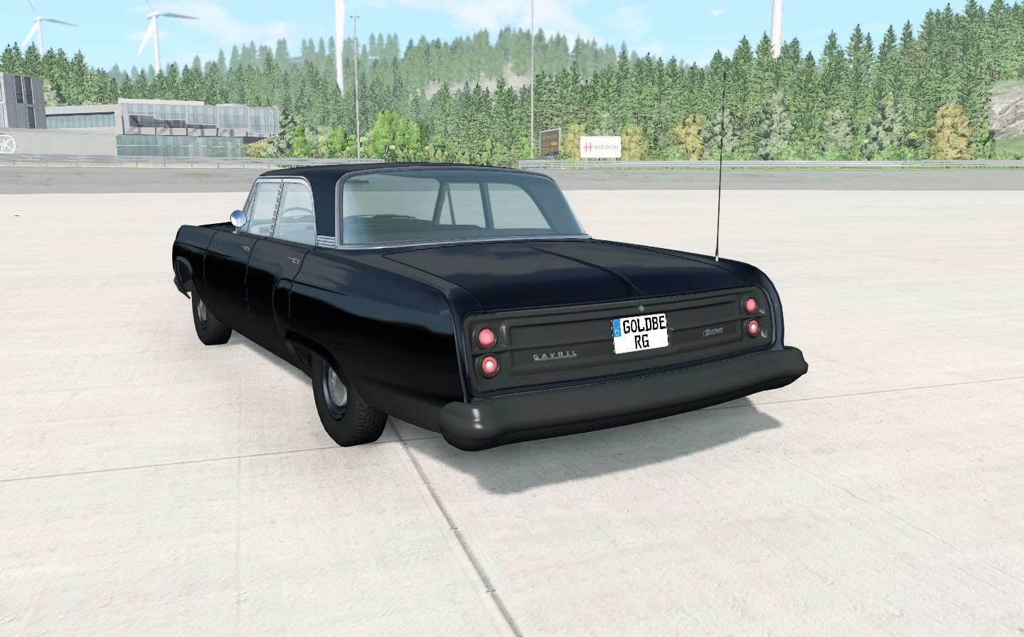BeamNG - Gavril Bluebuck Communist V1.2