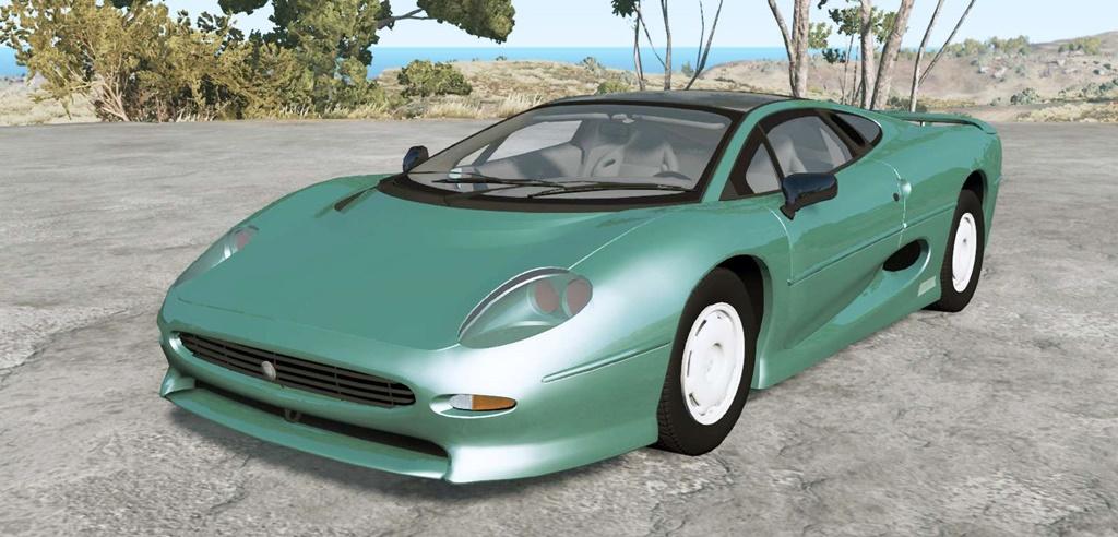 BeamNG - Jaguar XJ220 1994 Car Mod