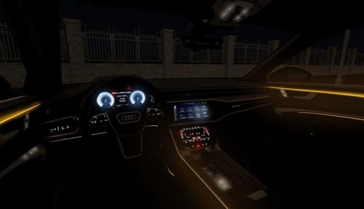 City Car Driving 1.5.9 - Audi A6 Sedan 55 TSFI 2019