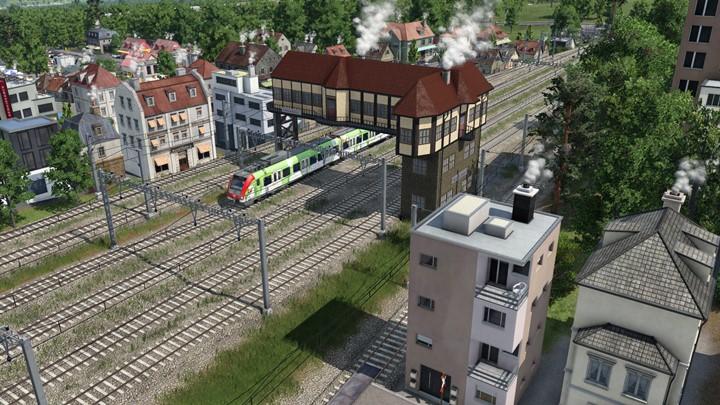 Transport Fever 2 - H0 Reiterstellwerk Stuttgart