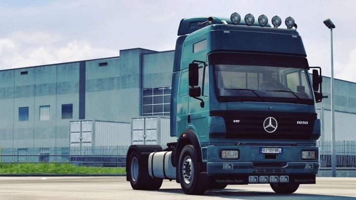 ETS2 - Mercedes-Benz SK Truck (1.41.x)
