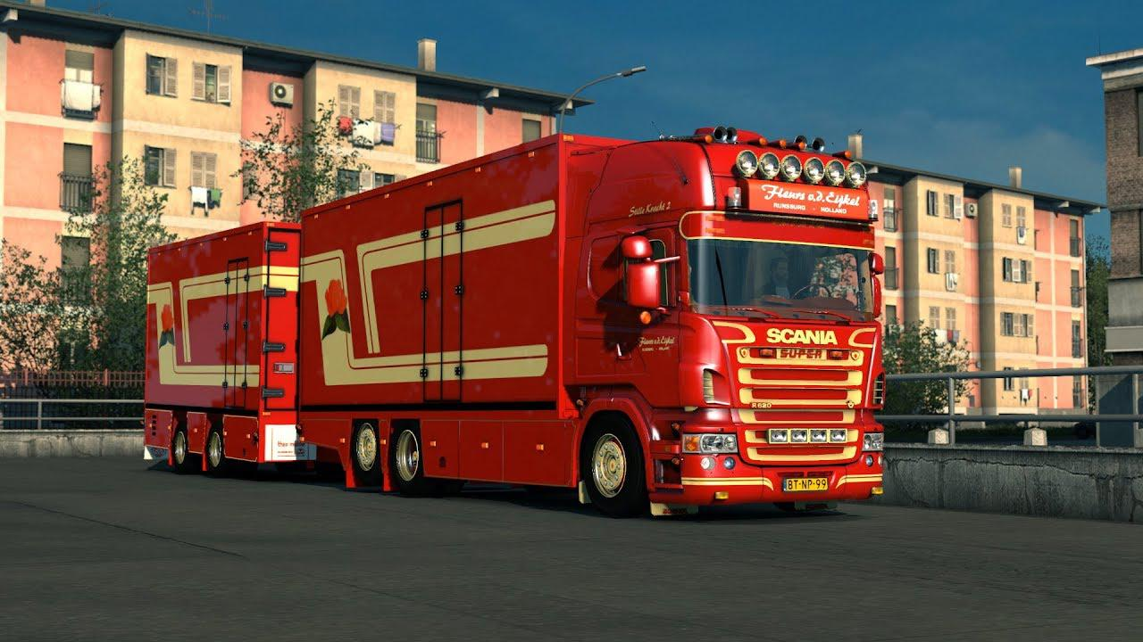 ETS2 - Scania V8 Crackle Version V11 (1.38.x)