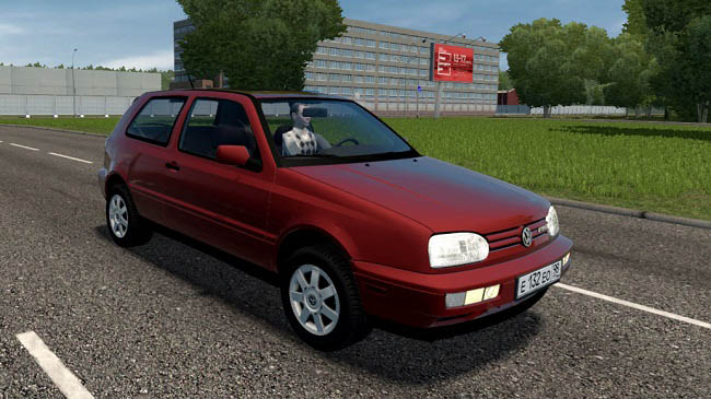 City Car Driving 1.5.9 - Volkswagen Golf GTI VR6 (MkIII) 1998