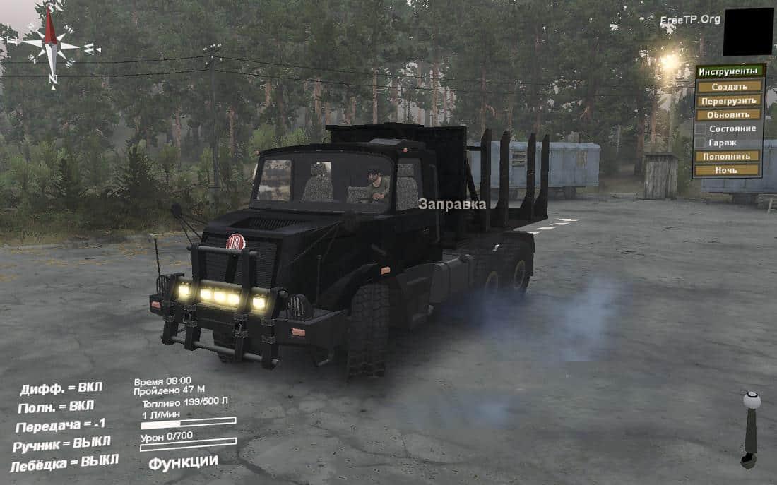 Spintires - Tatra Mod 163 Truck V1.4