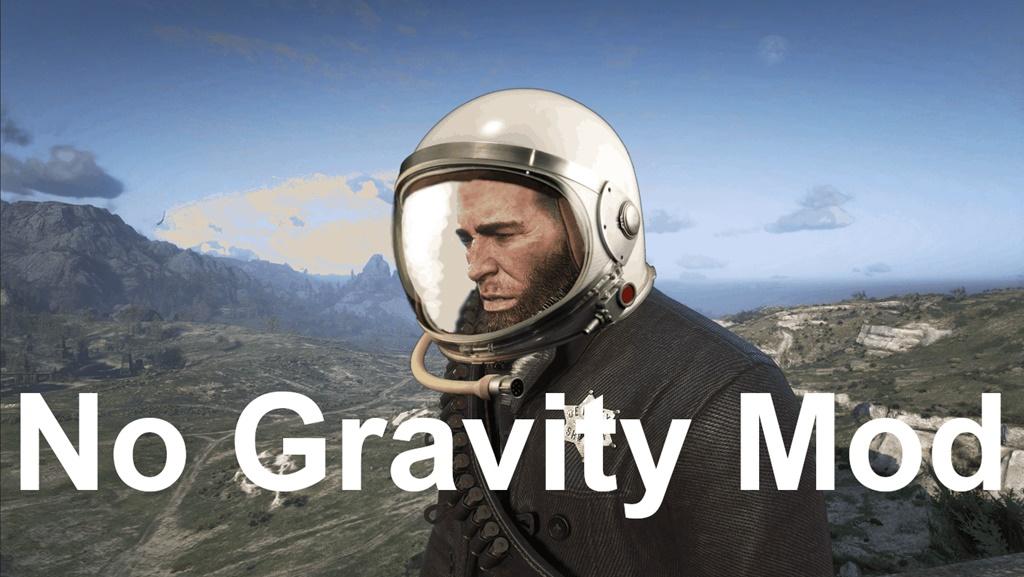 RDR2 - No Gravity Mod