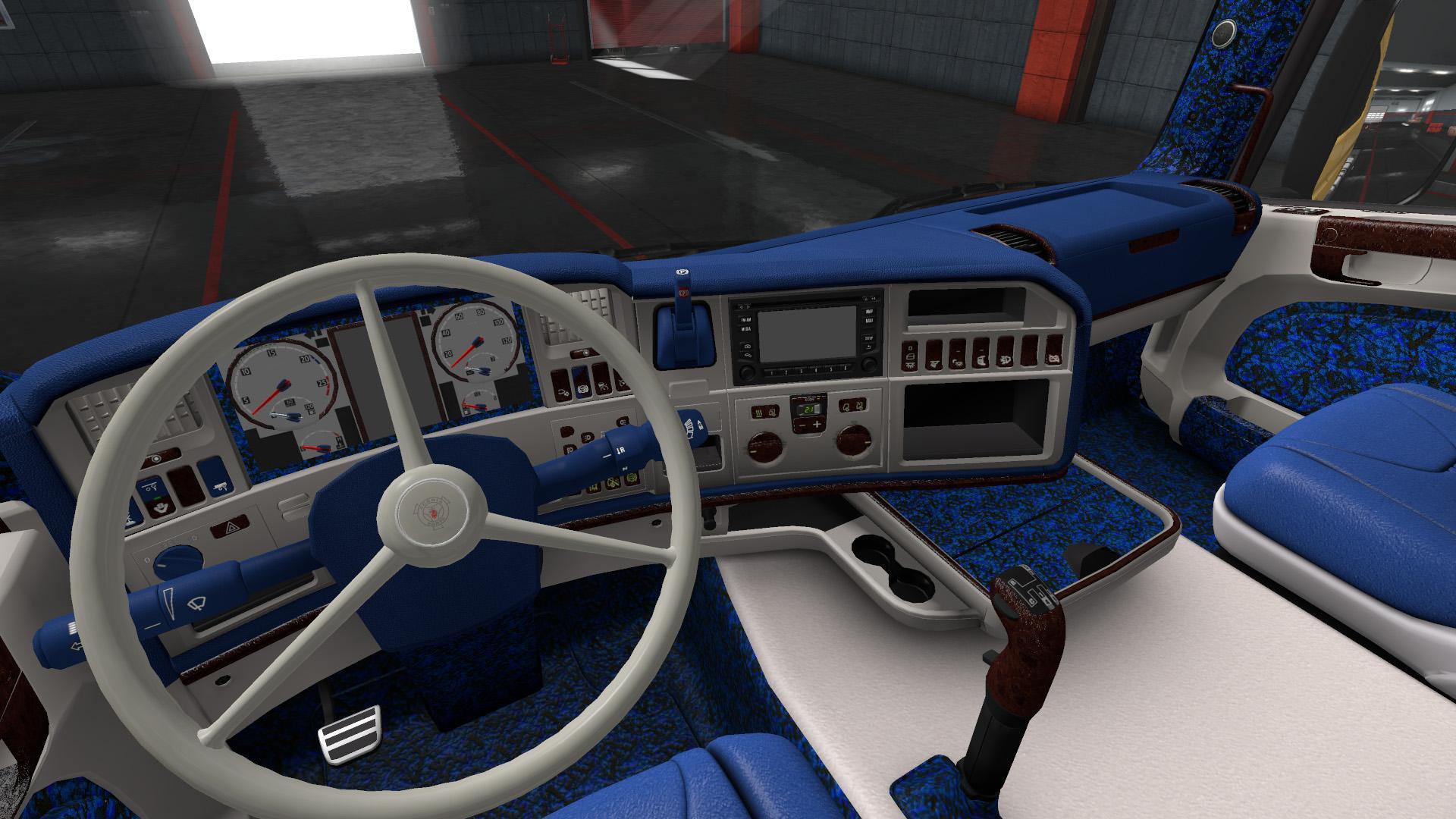 ETS2 - Custom Danish Interior for Scania RJL V1.0 (1.35.X)