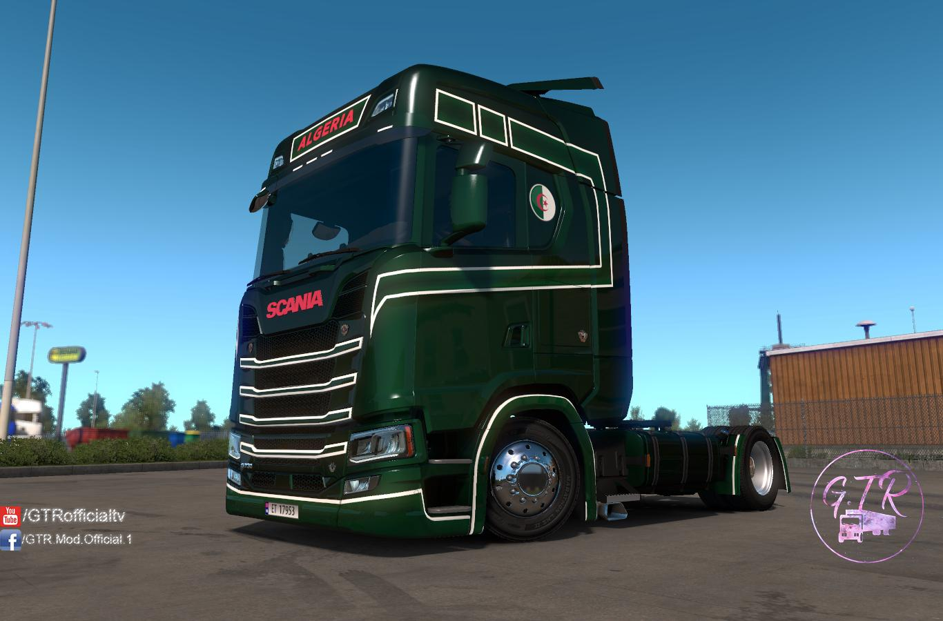 ETS2 - Scania S Next Gen Algeria Skin (1.35.X)