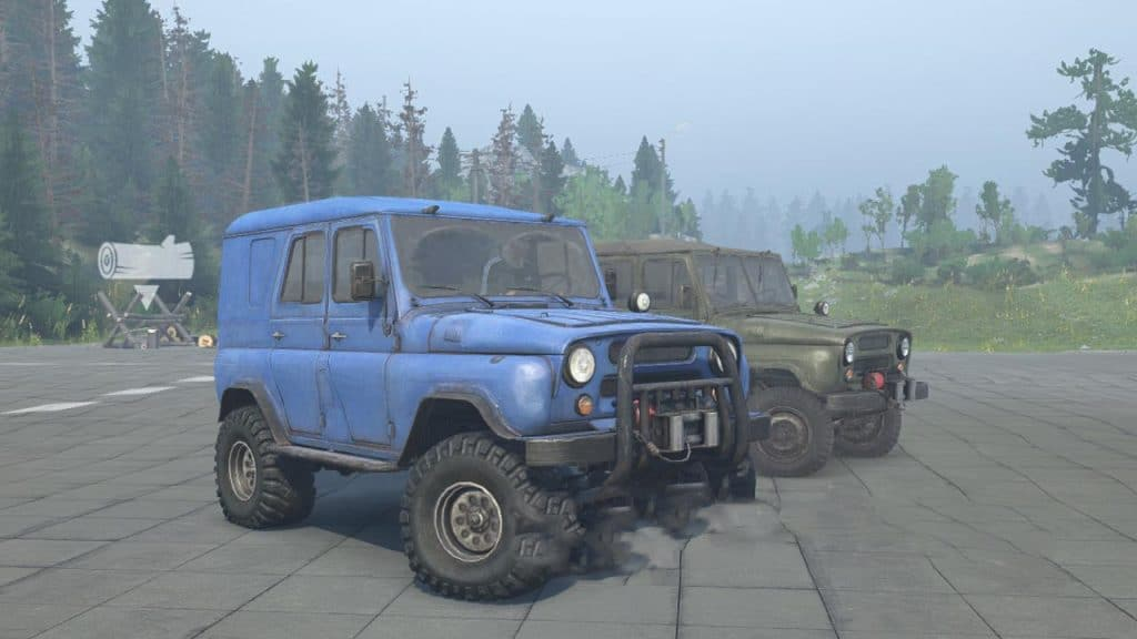 Spintires:Mudrunner - New Sound Uaz-469 V1