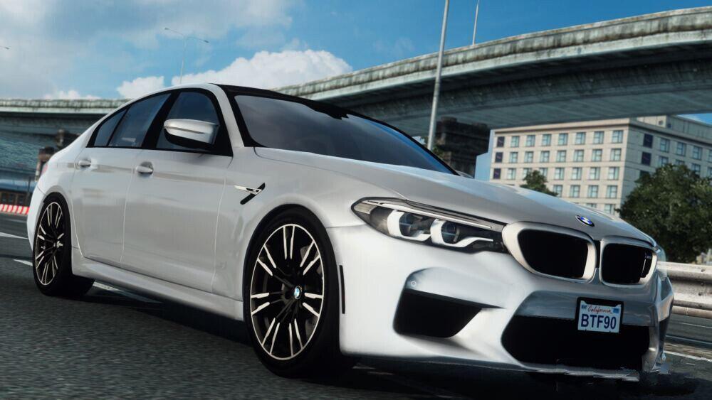 ETS2 - BMW M5 F90 (1.40.x)
