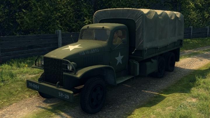 Mafia 2 – U.S. Army Truck