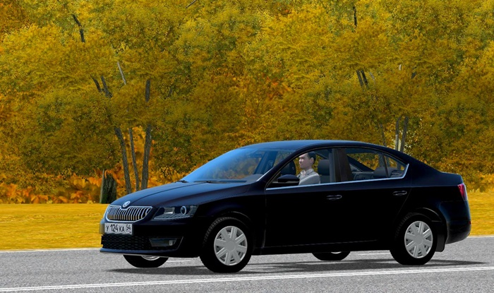 City Car Driving 1.5.9 – Skoda Octavia 1.6 TDI