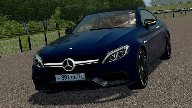 City Car Driving 1.5.9 - Mercedes-Benz C63S AMG Coupe 2016 (W205)