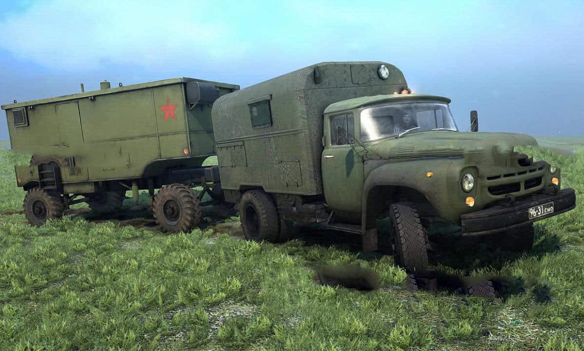 """SpinTires:Mudrunner - Zil Pack """"Legends of the USSR 7"""" V1.0"""
