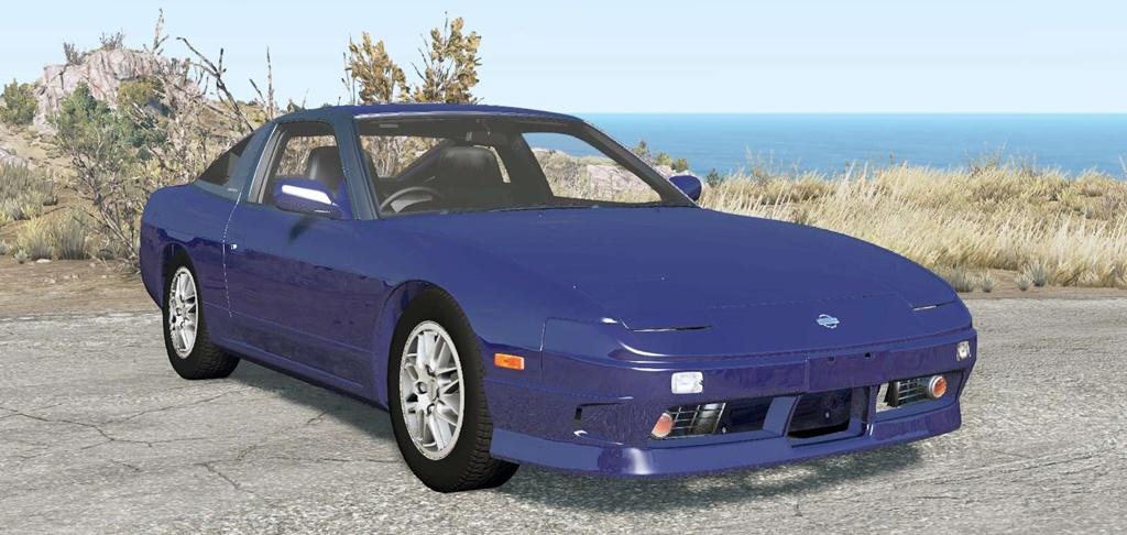 BeamNG - Nissan 180SX Type X (RPS13) 1996 Car Mod