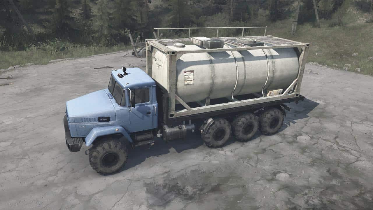 Spintires:Mudrunner - KrAZ-7140H6 Truck V09.09.19