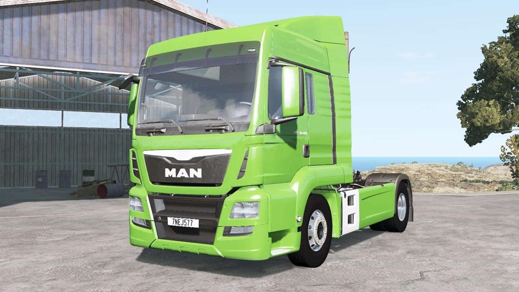 BeamNG - Man Tgs 18.480 Truck