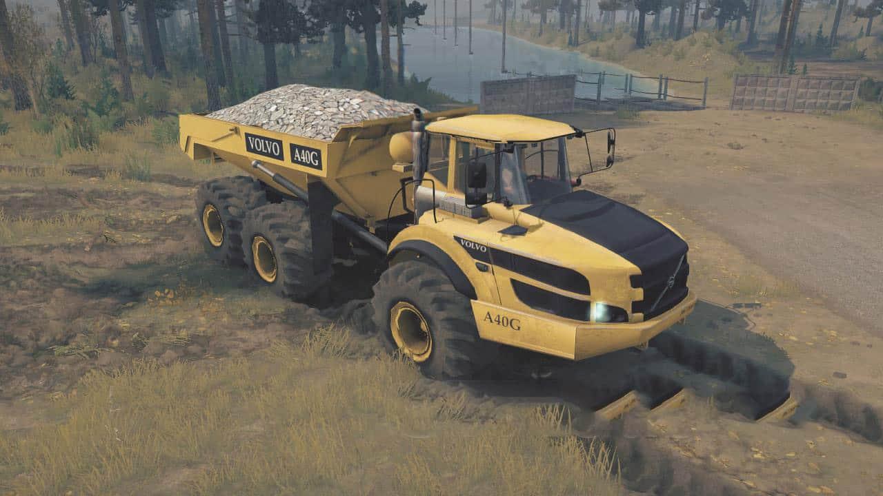 SpinTires:Mudrunner - Volvo A40g Truck v1.0